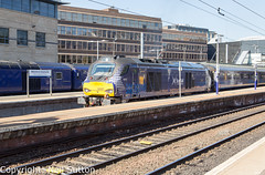 DRS 68007 - Haymarket (Neil Sutton Photography) Tags: 68007 beaconrailleasing canon class68 drs drslivery dieselelectric diesellocomotive edinburgh eurolight fifecircle haymarket railway scotrail scotland scotlandsrailway train uklight loco locomotive