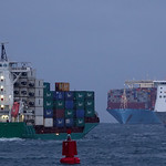 ELBTRADER , MUNICH MAERSK & STENA HOLLANDICA thumbnail