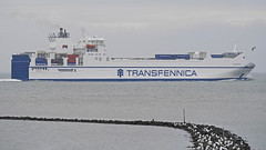 Combi freighter on the river Elbe near Cuxhaven (Manfred_H.) Tags: vehicles wasserfahrzeuge watervehicles ships schiffe freighter frachter combifreighter mehrzweckfrachter cuxhaven container cars