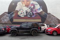 jade rivera (Luna Park) Tags: cdmx mexico mexicocity df streetart mural production lunapark jade rivera
