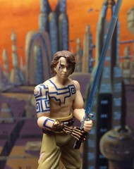 From the Tartatovsky Clone Wars Series, this 2007 Anakin is one of my favorite modern SW figures. (skott00) Tags: toys actionfigure jedi hasbro clonewars starwars anakin skywalker