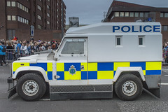 The Giants (The Man Who Collects Eyeballs) Tags: puppets marionette art culture french theatre show parade liverpool merseyside merseysidepolice crowd security crowdcontrol xolo littlegirl liverpoolsdream october 2018 police armedpoliceofficer land rover armoured emergency 999
