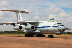 Ukrainian AIr Force Il-76MD (Sam Wise) Tags: air il76candid fairford tattoo riat raf ilyushin ukraine ukrainian force international royal