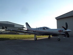 N930SA Socata Daher TBM-930 (Private Owner) (Aircaft @ Gloucestershire Airport By James) Tags: gloucestershire airport n930sa socata daher tbm930 private owner egbj james lloyds