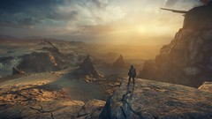 Mad Max_20181012182629 (Livid Lazan) Tags: mad max videogame playstation 4 ps4 pro warner brothers war boys dystopia australia desert wasteland sand dune rock valley hills violence motor car automobile death race brawl scenery wallpaper drive sky cloud action adventure divine outback gasoline guzzoline dystopian chum bucket black finger v8 v6 machine religion survivor sun storm dust bowl buggy suv offroad combat future