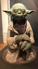 Yoda statue at #MayTheToysBeWithYou, Torquay Museum 19.08.17 (Trevor Bruford) Tags: star wars toy figure exhibition torquay museum maythetoysbewithyou