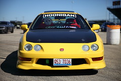 "IMG_8642: Integra ""Type R"" (i_am_lee_sam) Tags: 2018 import face off modified car route 66 raceway acura honda integra type r"