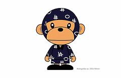 Großes Bügelbild NINJA CHIMP,  Print Patch zum aufbügeln (patchmonkeys) Tags: patch bügelbild vogel comic roll style stil young applikation fashion aufbügler street urban symbol livestyle spas streetwear print druck design transfer affe chimpanse ninja