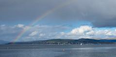 Dunoon rainbow (Rourkeor) Tags: dunoon firthofclyde mzuikodigitaled12‑100mm140ispro m43 omdem1markii olympus scotland uk rainbow scenic