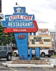 Little Chef Sign (podolux) Tags: dx d80 nikon nikond80 nikondx va virginia