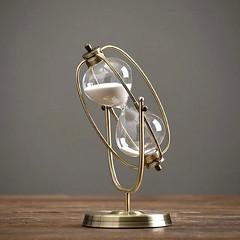 hourglass-decor-simple-retro-metal-rotating-luxury-vintage-creative-sand-clock-home-furnishing-ornament-resident-evil-4-w-gold (Unixmo) Tags: home decor ornaments modern ornemants