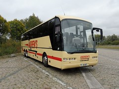 DSCN6517 Andrew's, Tideswell J5 AOT (Skillsbus) Tags: buses coaches belgium andrews tideswell peakdistrict derbyshire england j5aot neoplan n316shd euroliner weardale chapelendcoaches c5cec yn56bgv