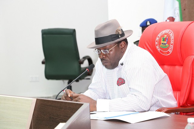 HSDickson - His Excellency meets with the Bayelsa Exco's. 24th October 2018