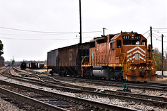 """The """"J"""" At Wallace (R.G. Five) Tags: herzog eje 657 freeport il wallace yard gt cc"""