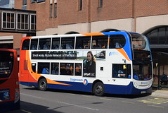 SY 15690 @ New Beetwell Street/coach station, Chesterfield (ianjpoole) Tags: stagecoach yorkshire scania n230ud alexander dennis enviro 400 yn60acz 15690 working route 50 new beetwell street chesterfield sheffield bus interchange