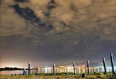 DSCF1180-1 (renata_souza_e_souza) Tags: macae rj lagoa night sky november clouds longexposure lagoon reflections city lights brasil brazil