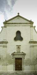 Puglia 2016-119 (walter5390) Tags: puglia apulia italia italy south sud meridione meridionale monopoli church chiesa san salvatore facade facciata cielo blu sky blue tramonto architettura architecture