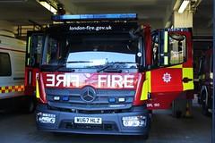 WU67 HLZ (Ben Hopson) Tags: london fire brigade lfb mercedes atengo dual purpose ladder dpl mark 3 mrk3 engine appliance truck pump 67plate wu67 hlz wu67hlz