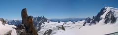 Aiguille du Midi (franchiric) Tags: snow neige superpanorama bellevue belvedere francia aiguilledumidi mountain montagna vette neve
