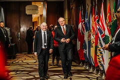 Premiers/premiers ministres Savikataaq and/et MacLauchlan at the First Ministers' Meeting/à la Rencontre des premiers ministres