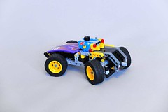 Lego Technic MOC - Race Car (makushima) Tags: lego technic car race toy moc