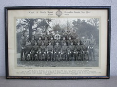 Vintage Military Photograph of Corpl Howl's Squad Grenadier Guards Nov 1944 (beetle2001cybergreen) Tags: vintage military photograph corpl howls squad grenadier guards nov 1944