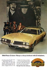 1969 Oldsmobile Vista-Cruiser Wagon USA Original Magazine Advertisement (Darren Marlow) Tags: 1 9 6 19 69 1969 o olds oldsmobile v vista cruiser w wagon c car cool collectible collectors classic a automobile vehicle g m gm general motors u us usa united states 60s