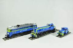 PKP Cargo (Mateusz92) Tags: lego train zbudujmy gagarin st44 st441216 pkp cargo