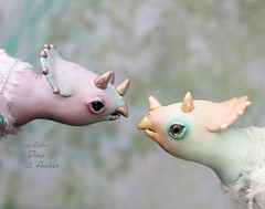 Noserub (pure_embers) Tags: pure laura embers doll dolls england uk pureembers photography photo art dinosaur triceratops cute fantasy scene magical whimsical magicalworld