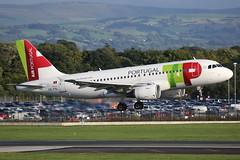 CS-TTL TAP AIR PORTUGAL AIRBUS A319-111 (Roger Lockwood) Tags: csttl tapairportugal airbusa319