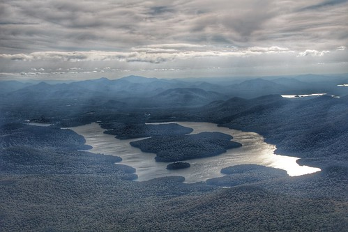 Adirondack Mountains - Whiteface Mountain - Lake Placid  -  New York