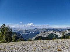 """Face au plateau de """"Pisse en l'Air"""" (François Magne) Tags: berger bergère brebis troupeau estive alpage pastoraloup transhumance scene pastorale fz 300 lumix loup couchade paysage panorama"""
