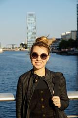Ezgi Gunuc at Canary Wharf - London UK (erengun3) Tags: canarywharf london canary wharf reuters londra transport for