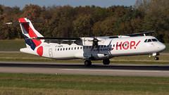 ATR 72-600 F-HOPL HOP! (William Musculus) Tags: airport spotting basel mulhouse freiburg euroairport flughafen eap bsl mlh lfsb fhopl hop atr 72600 72212a a5