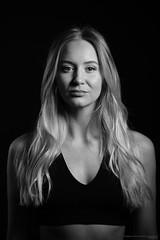 Jonna (Pierre Pocs) Tags: portrait blackandwhite woman studio profoto eskilstuna sweden dancer promo face beauty