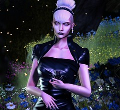 MIDNIGHT MUSE (VALERIA ENDRIZZI - Designer&FashionPhotographer) Tags: azul tableauvivant theepiphany aurealis gown elegant photography secondlife