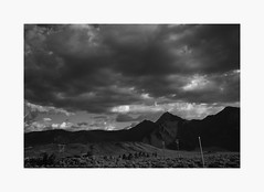 Mammoth Lakes Basin | A Road Trip (bnishimoto) Tags: roadtrip fujifilm acros bw monochrome xpro2 18135mm landscape sky mountainside mountain
