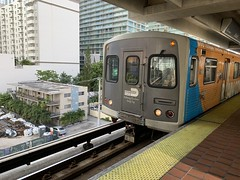 Metrorail Brickell Station (Phillip Pessar) Tags: metrorail brickell station downtown miami dade transit