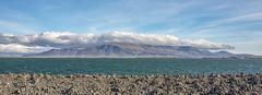 View from Rejkjavik (kiryeti) Tags: mountain sea rejkjavik landscape nature clouds