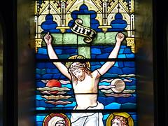 Church - St Andrews Catholic, Braemar 180711 [Stained Glass Window 10] (maljoe) Tags: church churches braemar stainedglasswindow stainedglass stainedglasswindows