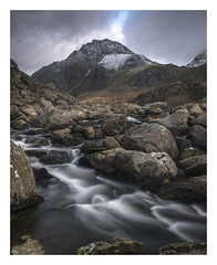 And Now For Something Completely....... Predictable........ (markrd5) Tags: wales snowdonia lynogwen wrs winter cascade flow water atmosphere le longexposure nikon leefilters bigstopper 10stop