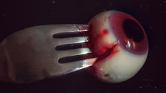 Juicy jelly eye. (Marina Is) Tags: trickortreat macromondays trucootrato caramelo candy gelatina jelly macrofotografia dulce hmm creepy horripilante gross asqueroso spooky yummy sabroso escalofriante juicy meaty jugoso carnoso gruesome horrible