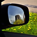 Look in the Side Mirror… (Devils Tower National Monument) thumbnail