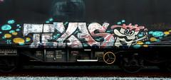 graffiti on freights (wojofoto) Tags: amsterdam nederland netherland holland graffiti streetart freighttraingraffiti freighttrain freights fr8 vrachttrein cargotrain wojofoto wolfgangjosten texas