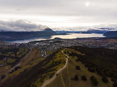 Wanaka from Iron Mountain (Matt Champlin) Tags: wednesday iron mountains travel mountain hike hiking adventure newzealand wanaka beautiful aerial drone drones dji mavic air holiday vacation amazing