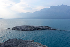 Abraham Lake and Mount Michener (*Andrea B) Tags: david thompson country davidthompsoncountry alberta rockymountains august abraham lake abrahamlake windypoint windypointridge ridge 2018 summer hike hiking august2018 windy point smoke reservoir