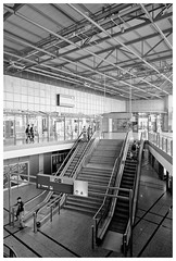 DSCF9896 (awbaganz) Tags: berlin lichtenberg germany indoor architecture building station bw monochrome fujifilm fuji xpro2 xf1024