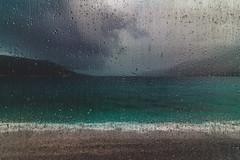 Let it rain (Vagelis Pikoulas) Tags: rain bokeh blue blur drops drop waves water porto germeno greece october autumn 2018 europe landscape sea seascape canon 6d tokina 1628mm view
