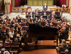 DSCN0106centre Arthur Bliss Piano Concerto. Soloist Poom Prommachart. Ealing Symphony Orchestra, leader Peter Nall, conductor John Gibbons. St Barnabas Church, west London. 6th October 2018 (Paul Ealing 2011) Tags: ealing symphony orchestra eso 6 october 2018 conductor john gibbons leader peter nall st barnabas church west london pitshanger lane w51qg w5 1qg england concert classical soloist poom prommachart arthur bliss piano concerto