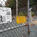 Abandoned Nova Scotia Power Beaufort Electrical Substation Yard